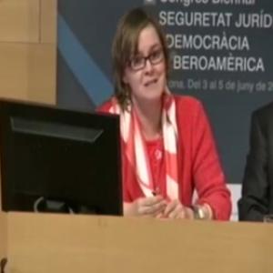 Taller 2: La seguridad jurídica en la formación 5. Modera D. Ramon Camp Batalla (CGPJ, España)