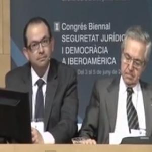Taller 2: La seguridad jurídica en la formación. Modera D. Miguel Collado Nuño (CGPJ, España)