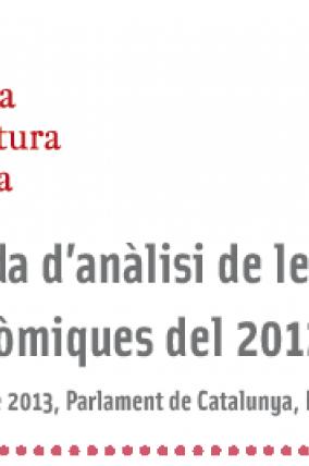 Jornada d'anàlisi de les eleccions autonòmiques del 2012