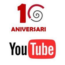 Arribem al nostre 10è aniversari amb 560 mil visualitzacions al nostre canal Youtube