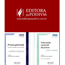 A editora bahiana PODIVM lançou a coleção Raciocínio probatório
