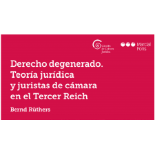 Nuevo volumen de la Colección de la  Càtedra de Cultura Jurídica